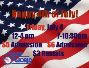 4th of July skating event
