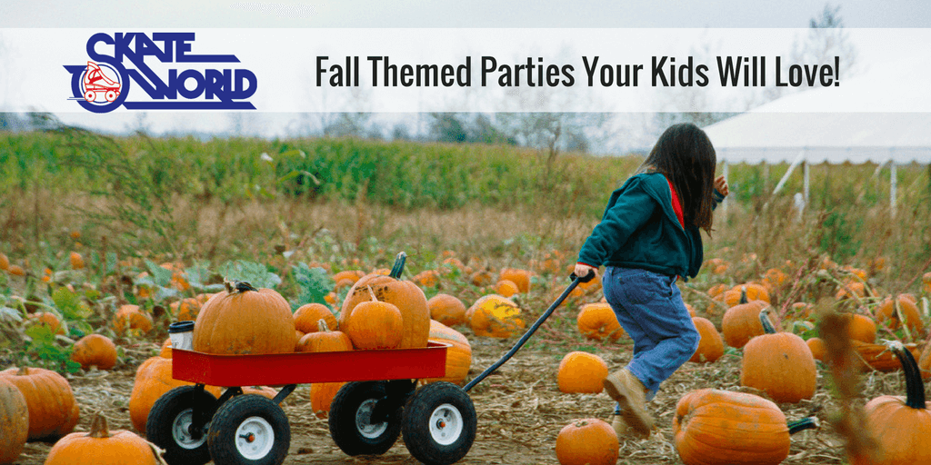 fall themed kids parties
