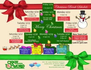 skate world christmas schedule