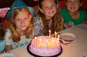 Birthday Party Girls Cake
