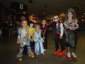 skate world young costume group