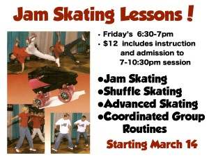 skate world jam skating lessons