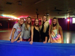 skate world sorority social
