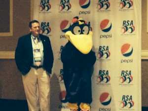 RSA President and Skate World Mascot