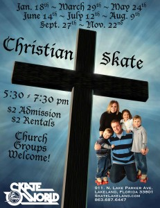 christian skate night