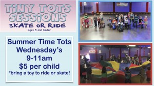 tiny tots skate sessions