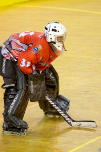 roller hockey game