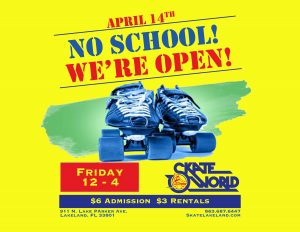 school's out april 14